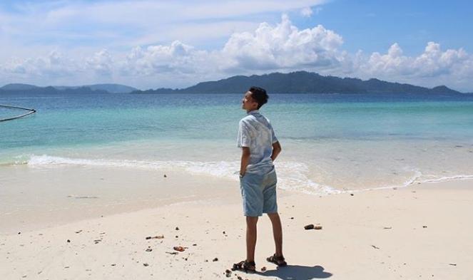 Pulau tolua di air bangis