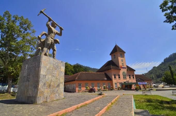 Alun-alun kota Sawahlunto