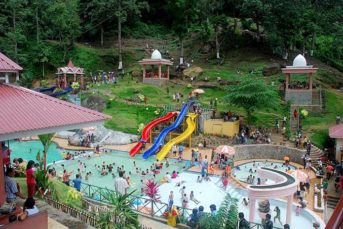 Waterboom di Sawahlunto