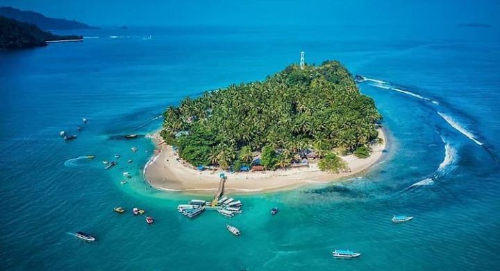 Wisata pulau Cingkuak