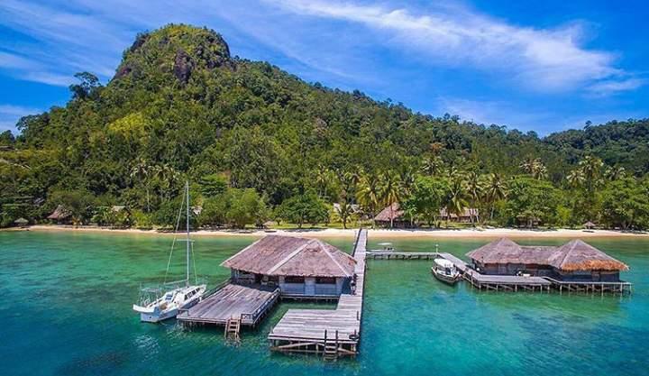Pantai wisata di sekitar pesisir selatan
