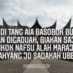 Pantun Minang nasehat agama