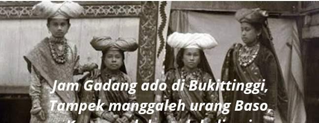Pantun Minang lamo