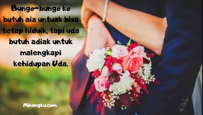 Gombalan romantis bahasa Minang