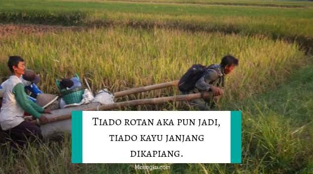 Kutipan bijak bahasa Minangkabau