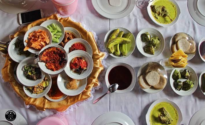 Sejarah Makan bersama di Sumatera barat