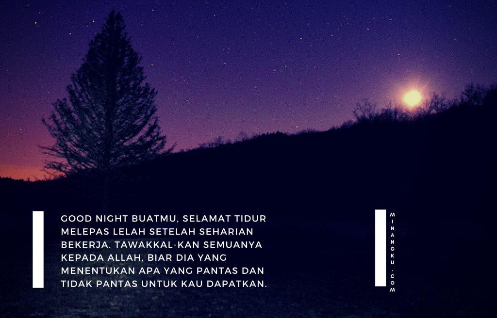Quotes selamat malam pendek