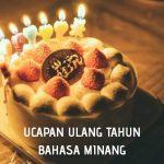 Ucapan ulang tahun bahasa Minang
